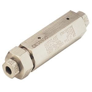 autoclave engineers high pressure check valve